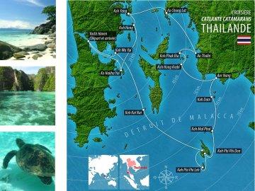 Segelreise Thailand