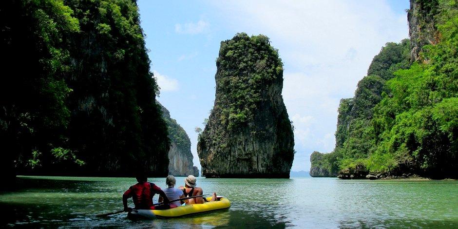 Foto: Thailand Phang-Nga Bay