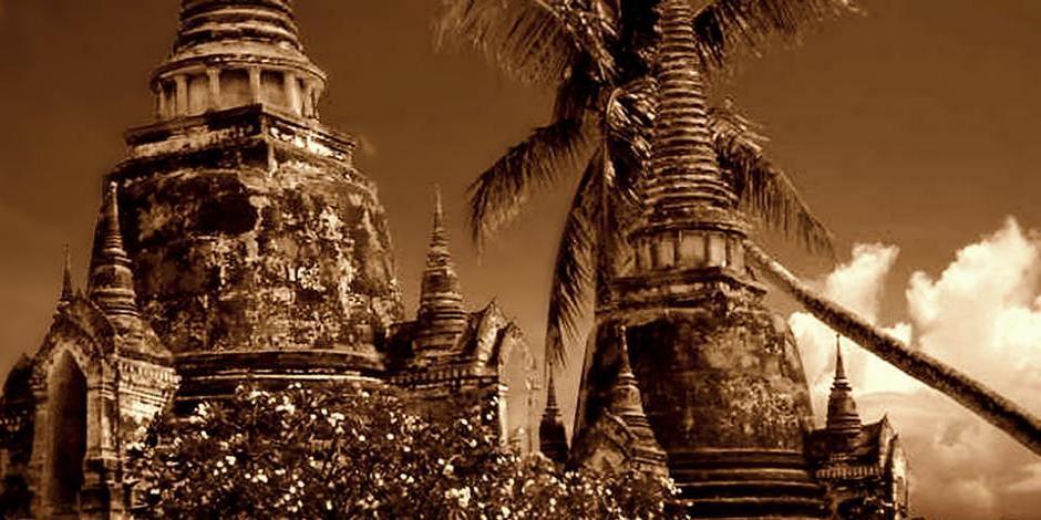 Ayutthaya, Ruinen der alten Königsstadt von Siam besuchen