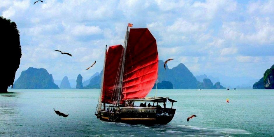 Thailand Segel Kreuzfahrt Trang Phuket