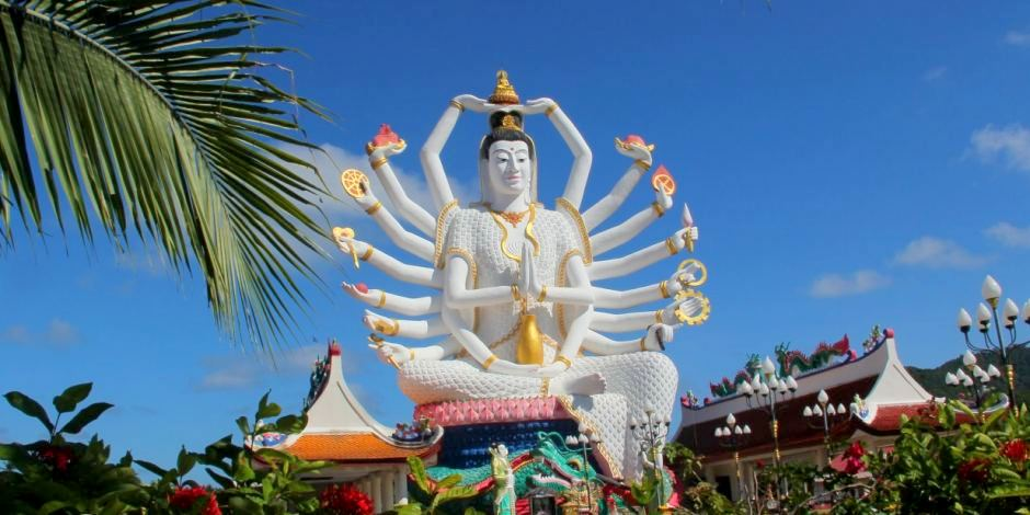 Foto: Thailand / Koh Samui Wat Plai Laem