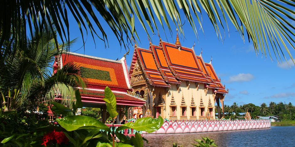 Foto: Thailand / Koh Samui Tempelanlage