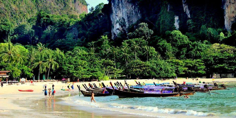 Südthailand Krabi Ao Nang Beach