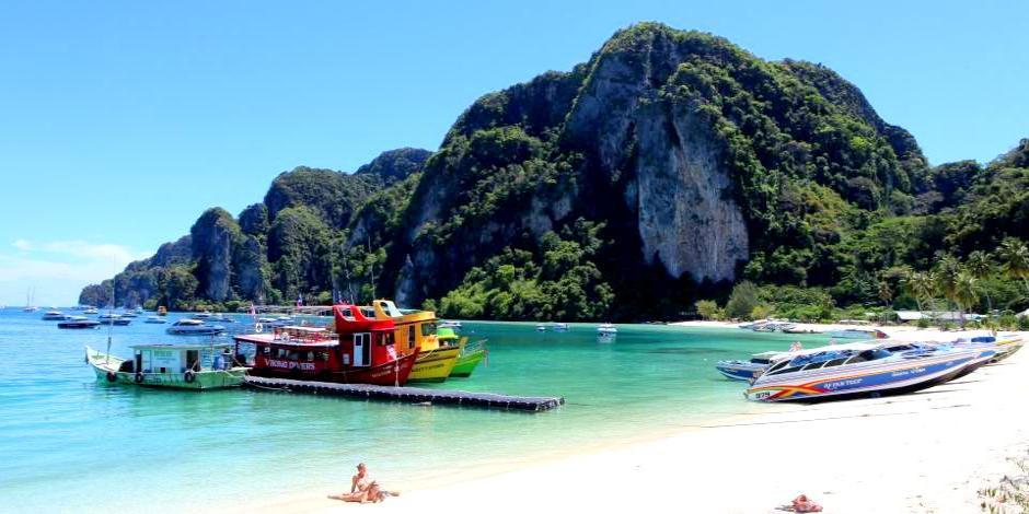 Foto: Urlaub in Thailand - Fahrt zur Insel Koh Phi Phi