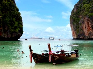 Foto. Touristenattraktion Insel Koh Phi Phi (Krabi / Thailand)
